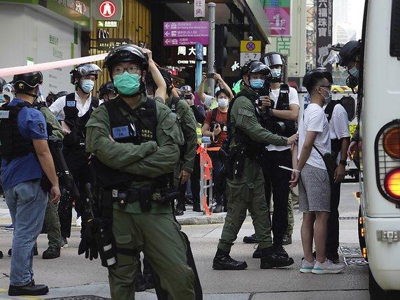 Hong Kong : près de 300 arrestations lors de manifestations