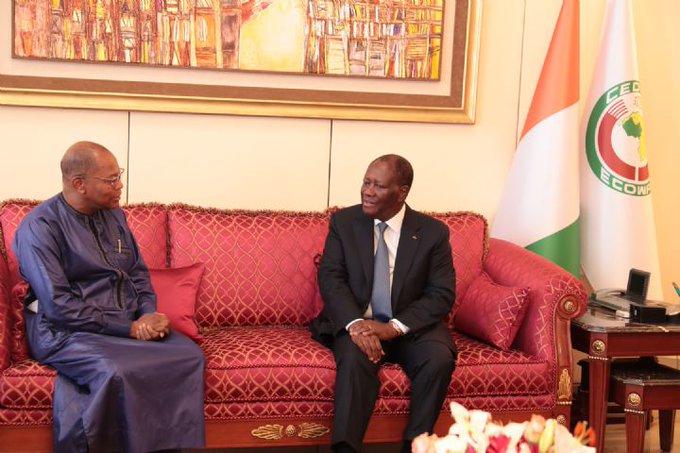 Mohamed Ibn Chambas reçu en audience par le Président Alassane Ouattara