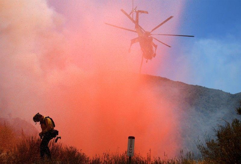 Californie : un incendie provoque l'évacuation de 60'000 personnes