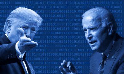 Trump et Biden, le temps des bouchées triples