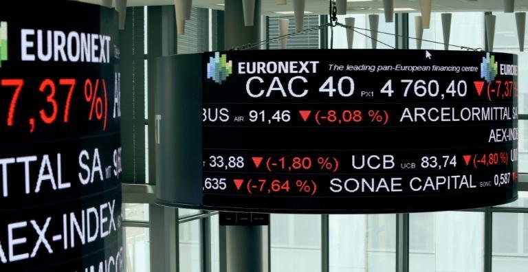 L'Europe boursière termine en hausse, confiante sur la reprise et les vaccins