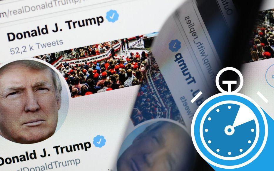 Donald Trump banni de Twitter «de façon permanente»
