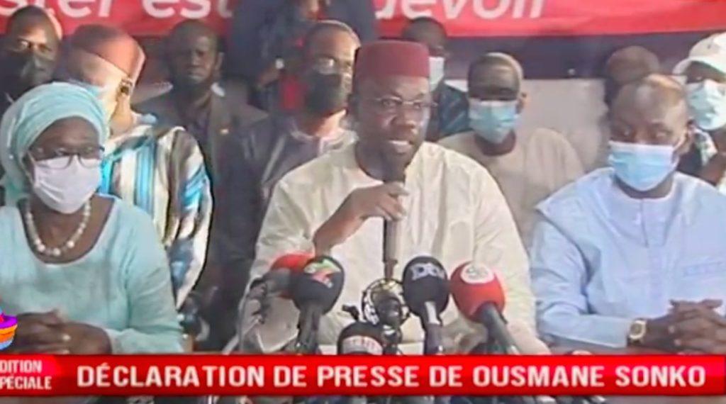 Sénégal : Sitôt libéré, Ousmane Sonko inaugure ses habits de chef de l'opposition par des exigences