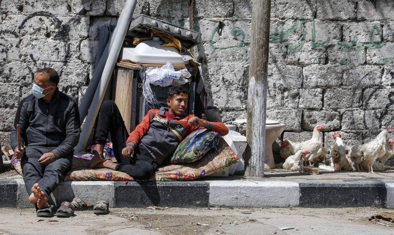 Aide américaine : Mieux vaut tard que jamais, disent des réfugiés palestiniens