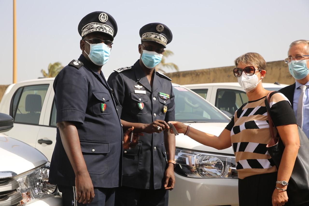 Sécurité intérieure : de nouveaux locaux et véhicules pour la direction générale de la Police nationale (communiqué)