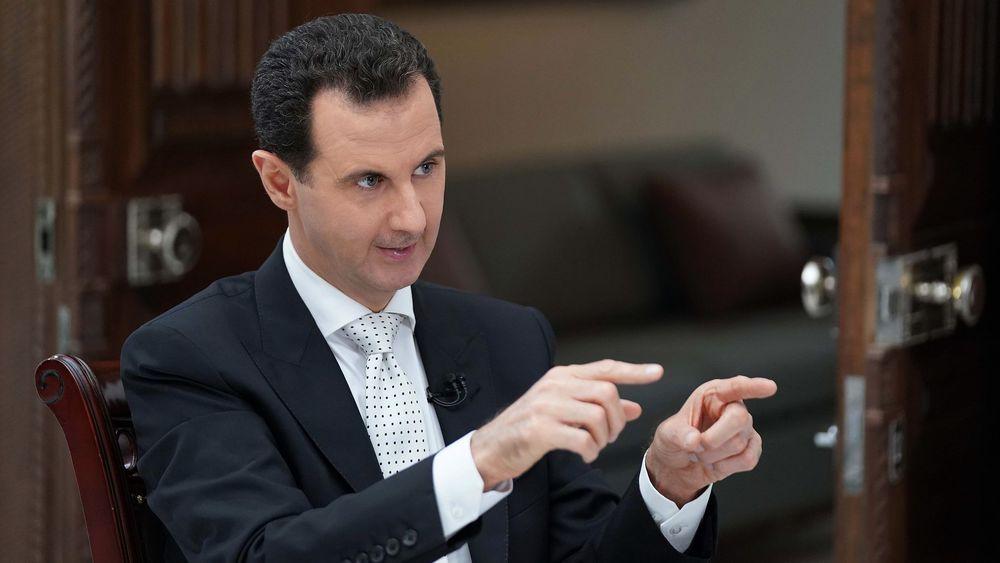 Le président Bachar al Assad