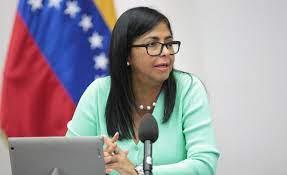 Delcy Rodriguez, la vice-présidente du Venezuela