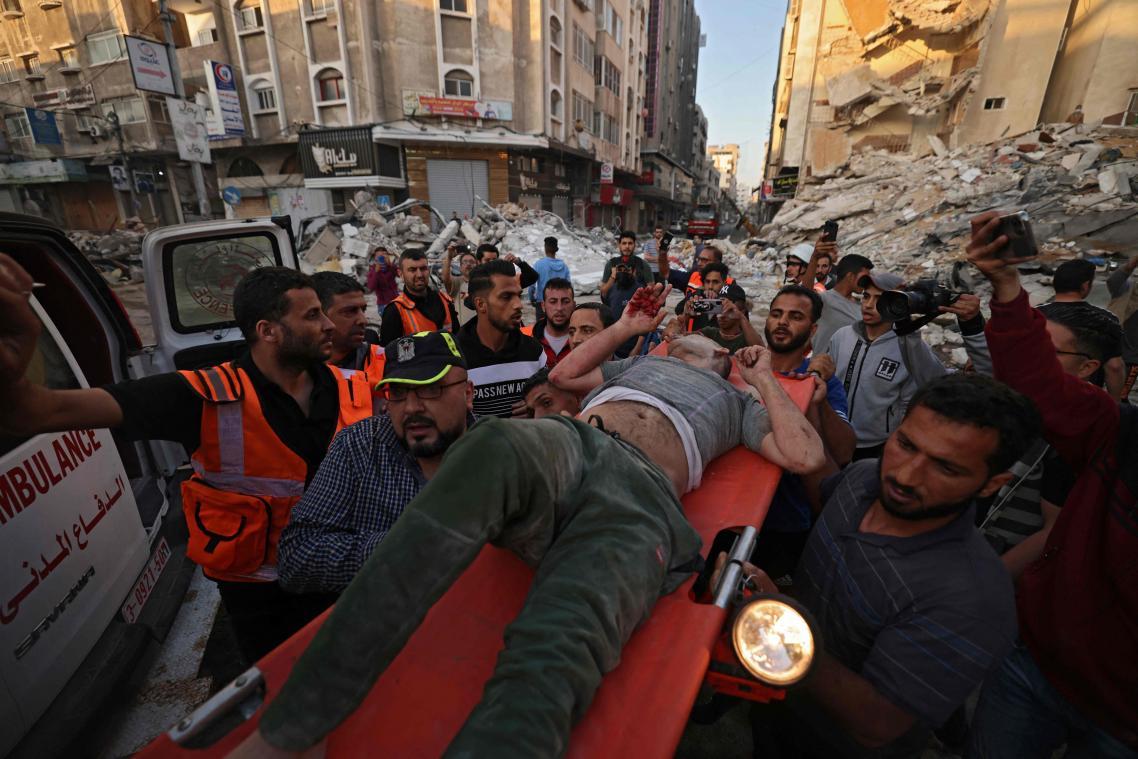GAZA: 42 Palestiniens tués ce dimanche dans des frappes israéliennes