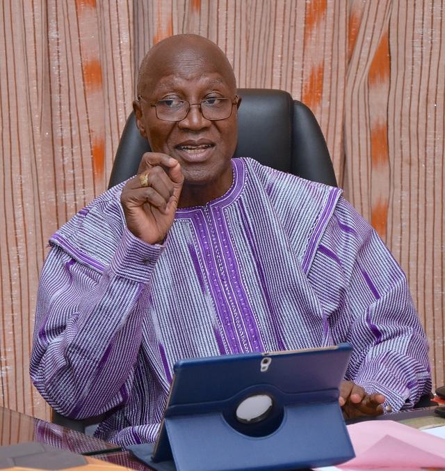 Christophe Dabiré, chef du gouvernement burkinabè