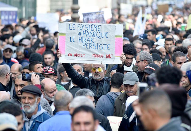 ALGERIE : trois figures de la contestation arrêtées avant les élections législatives