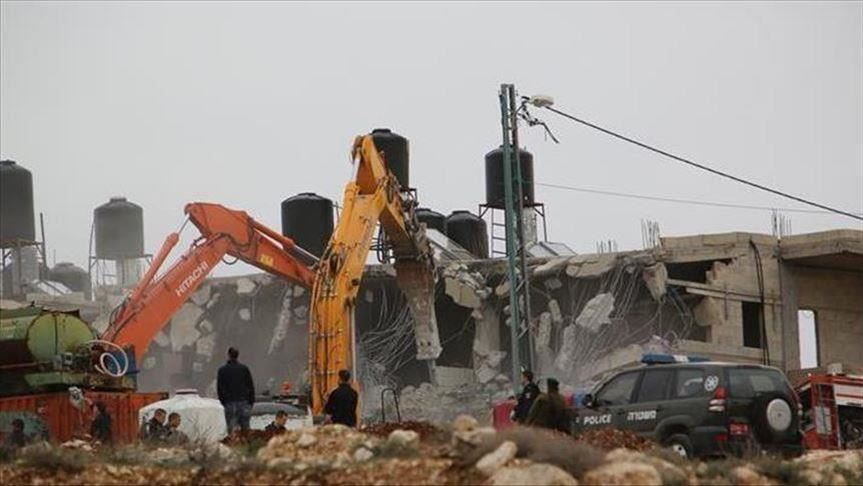 Cisjordanie: l'armée israélienne rase la maison d'un Palestinien accusé de meurtre