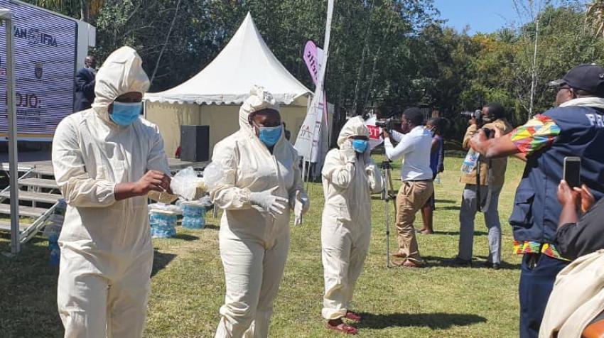 Zimbabwe : les fidèles non vaccinés interdits de messe par le parlement