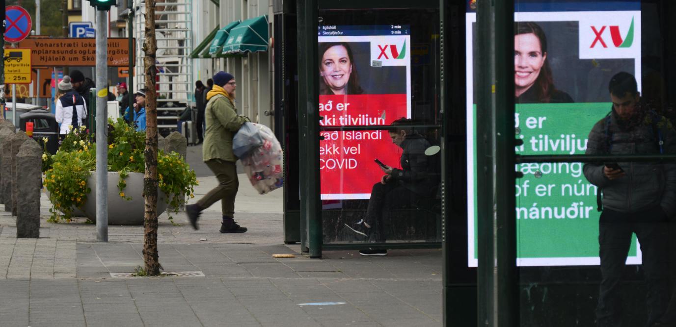 L'Islande se dote d'un parlement majoritairement féminin