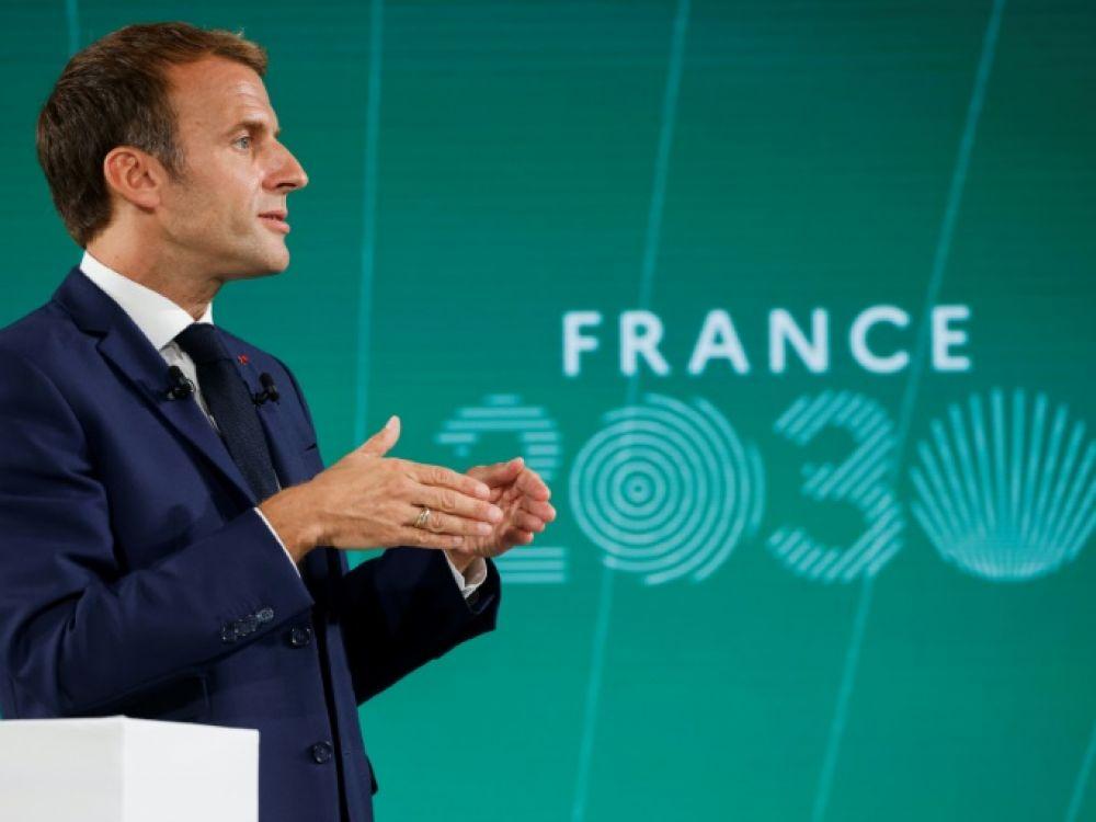 Industries et technologies : Emmanuel Macron annonce un plan d'investissements de 30 milliards d'euros