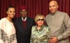 """Retrouvailles avec Karim et Syndiély: Abdoulaye Wade célèbre """"le miracle de noël"""" au Qatar"""
