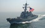 Un navire américain tire des coups de semonce contre des bateaux iraniens
