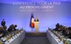 Conférence de Paris: les Palestiniens se félicitent, Israël critique