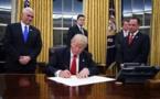 A peine installé à la Maison Blanche, Trump s'attaque aux médias
