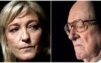 Plaintes croisées entre les Le Pen père et fille