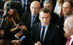 Macron investit le terrain de la sécurité