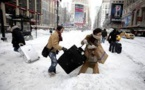 Etats-Unis: violente tempête de neige dans le nord-est