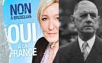 De Gaulle – Le Pen : quelle différence ?