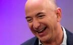 Jeff Bezos , Pdg d'Amazon, devient l'homme le plus riche du monde