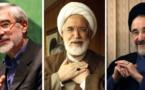 Iran: Khatami demande la fin de la résidence surveillée de deux opposants