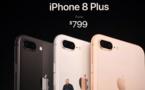 Apple dévoile trois nouveaux iPhones, dont un modèle anniversaire