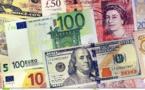L'euro recule face à un dollar revigoré, la livre britannique peine