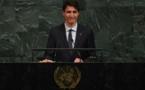 Trudeau admet à l'ONU l'échec de son pays à bien traiter les autochtones