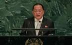 """La Corée du Nord dénonce à l'ONU un Trump """"mégalomane"""", un """"roi menteur"""""""