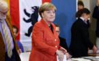 La CDU de Merkel remporte les législatives en Allemagne