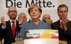 """Législatives allemandes: Merkel espérait un """"meilleur résultat"""""""