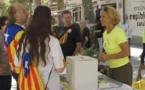 En Catalogne, à J-2, les militants proréférendum occupent des écoles