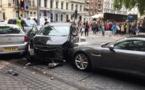 Londres: des piétons fauchés par un véhicule, un homme arrêté