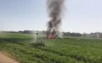 Espagne: un avion se crashe en plein jour de fête nationale