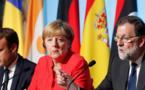 Catalogne: le gouvernement espagnol a le soutien de Merkel et Macron
