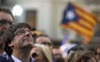 """Catalogne: Puigdemont dénonce la """"pire attaque"""" contre sa région depuis Franco"""