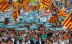 A Barcelone, des centaines de milliers de Catalans réclament l'indépendance