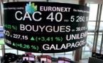 La Bourse de Paris reste en baisse après Wall Street et la BOE