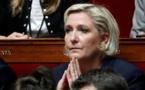 Mme Le Pen dénonce la levée de son immunité parlementaire