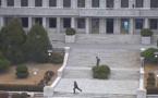 Défection d'un soldat nord-coréen, des images spectaculaires rendues publiques