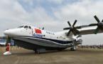 Chine: Vol inaugural du plus gros hydravion au monde