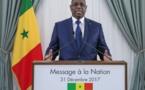 31 Décembre 2017 : le discours de nouvel an du Président Macky Sall
