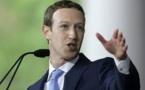 """Mea culpa du patron de Facebook, qui promet de """"réparer"""" le réseau social"""