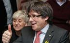 Catalogne: accord des deux grands partis indépendantistes pour investir Puigdemont (partis)