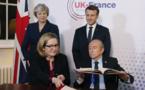 Macron et May signent un traité sur le contrôle de l'immigration à leur frontière