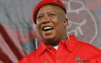 Afrique du Sud: Malema lance sa campagne pour 2019