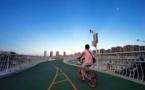 Les «autoroutes à vélos», un nouveau modèle de transport en essor en Chine